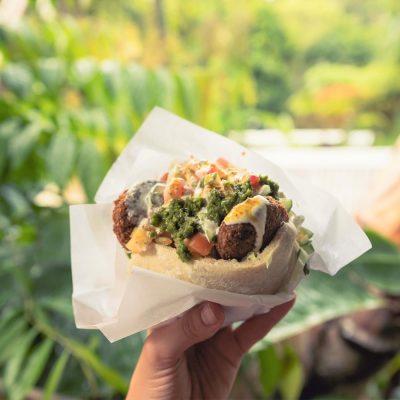 Falafel food in Kuranda Village