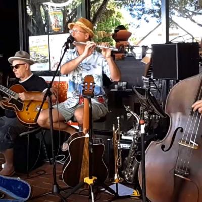 Jazz in Kuranda at cafe mandala